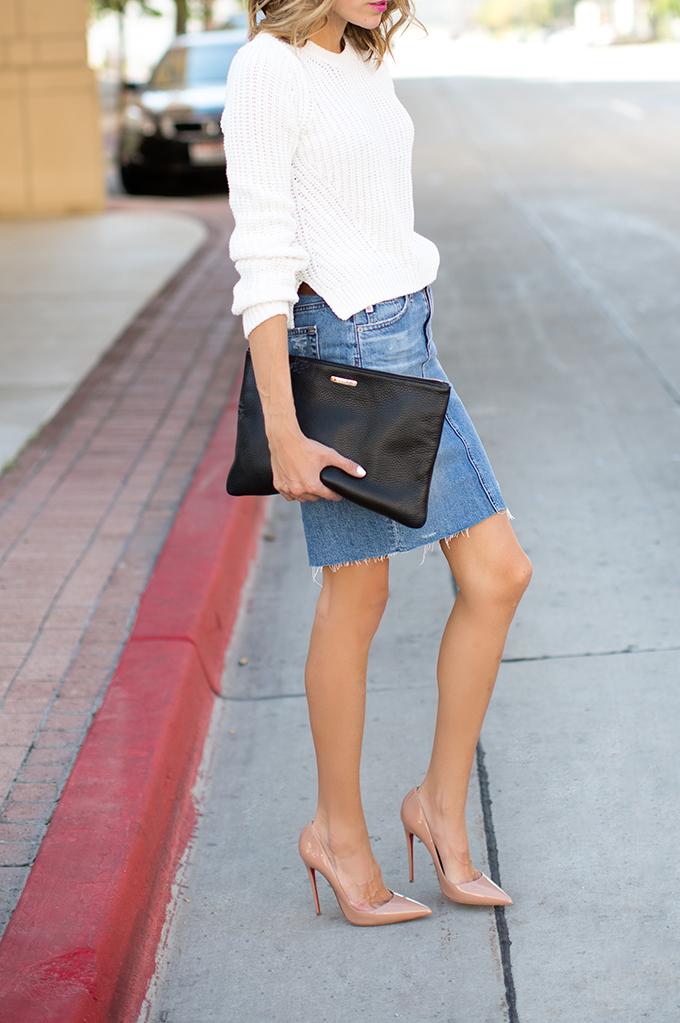 Bringing Back the Denim Skirt - Hello Fashion