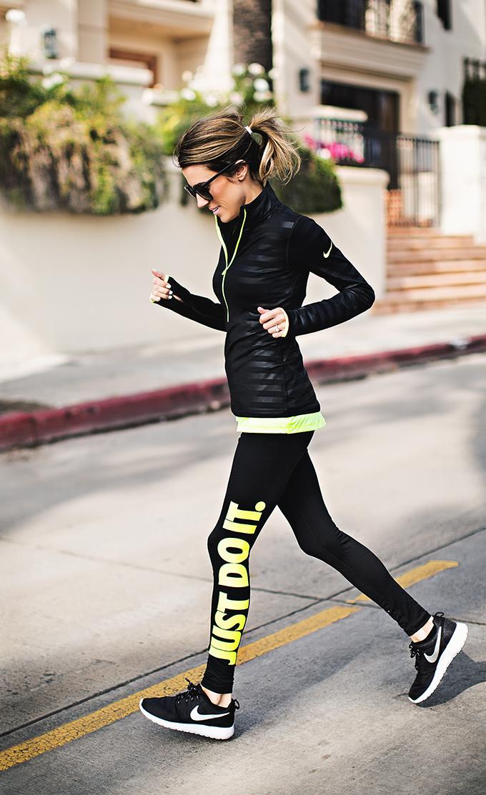 bf42a4b6590f Black and Neon Nike | Hello Fashion