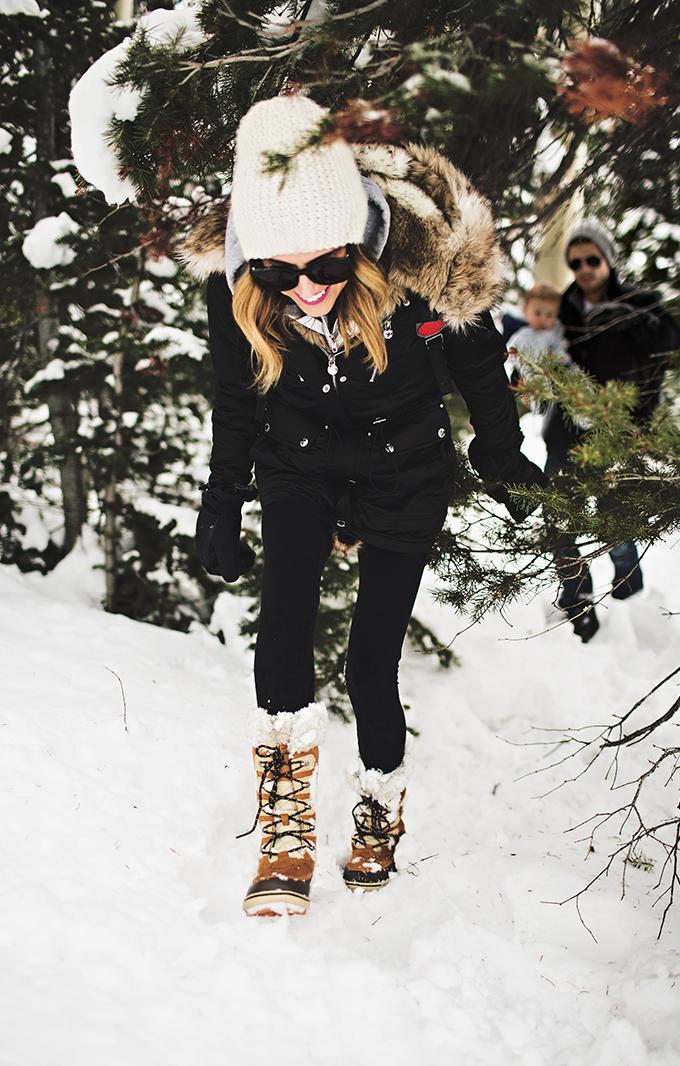 cute snow boots