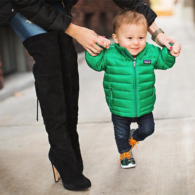 kids puffy coat
