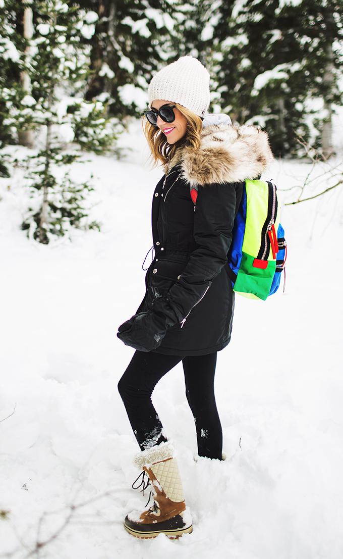 snow outfit hello fashion blog