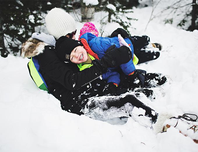 snow pile