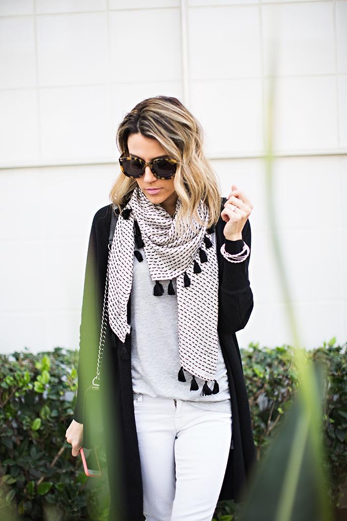 tassel scarf nordstrom