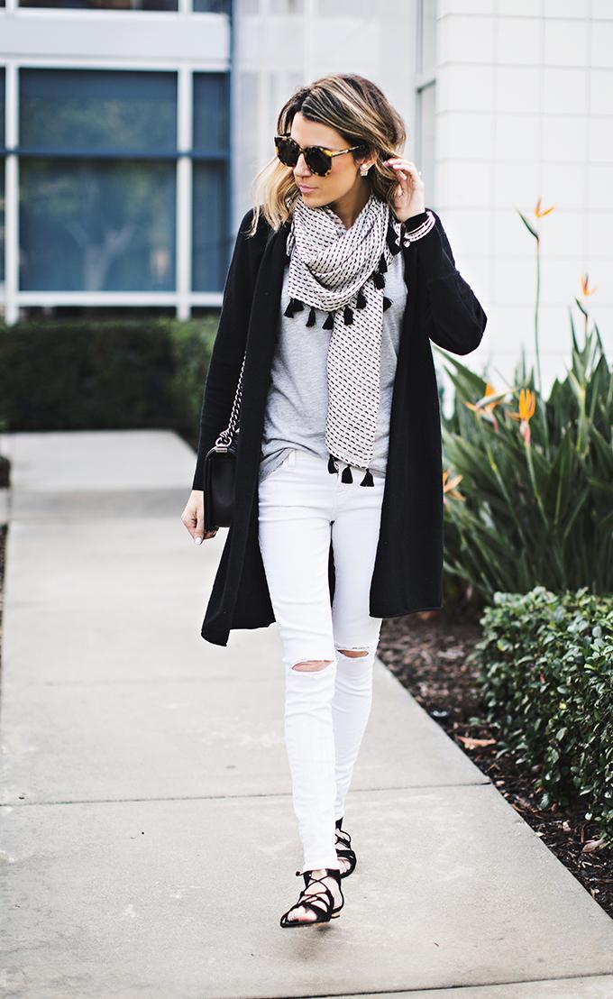 white distressed denim hello fashion
