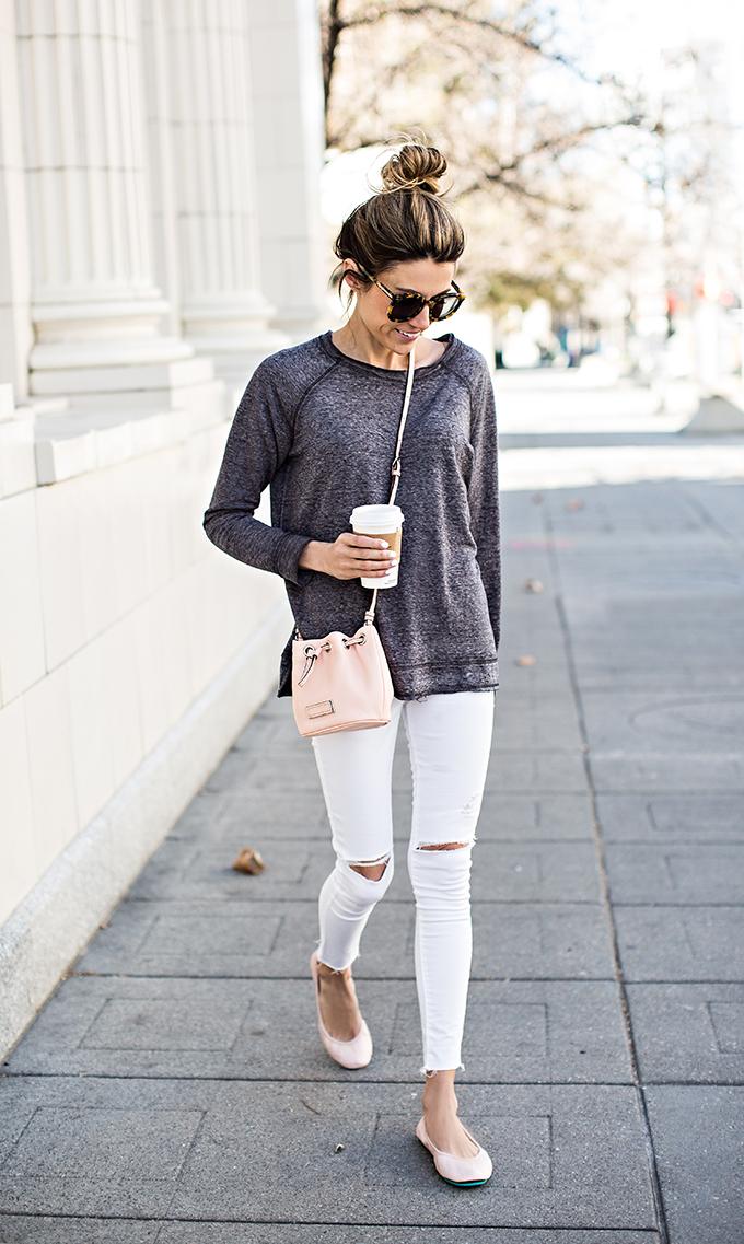 distressed jeans hello fashion blog