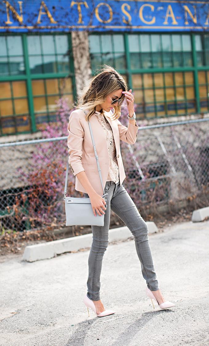 pink and neutrals hello fashion blog