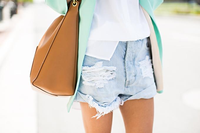 distressed shorts hello fashion