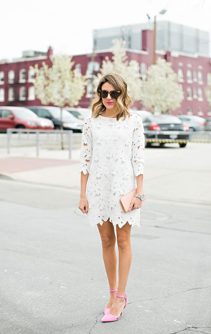 hello fashion blog white dress