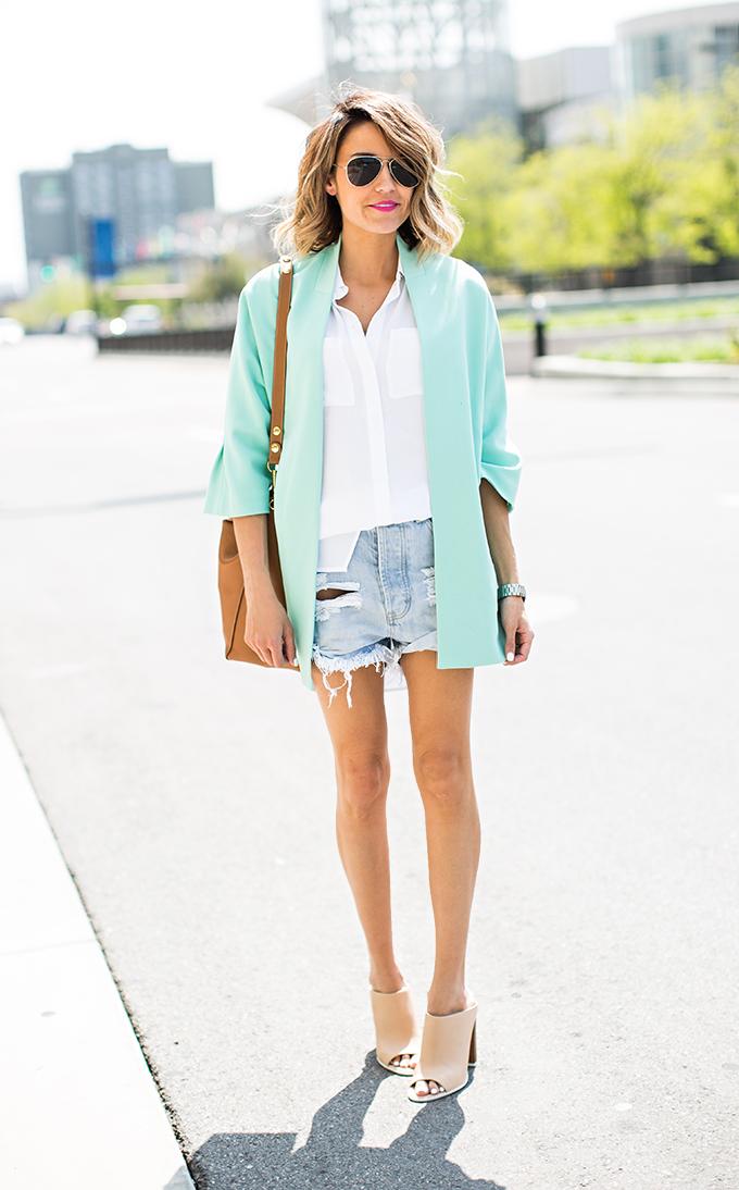 mint and white hello fashion blog