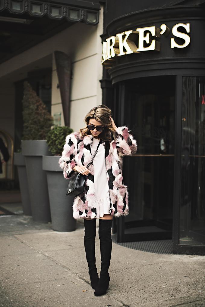 fur coat on sale