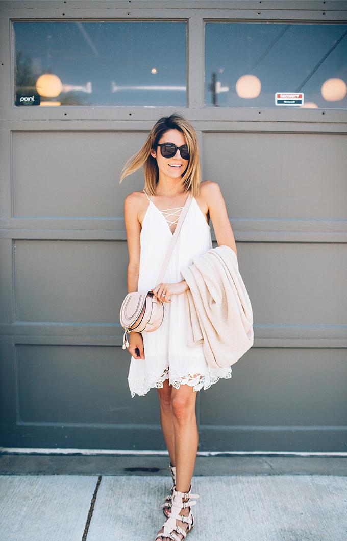 white summer dress hello fashion blog