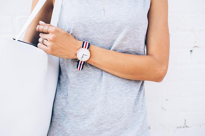 canvas watch hello fashion