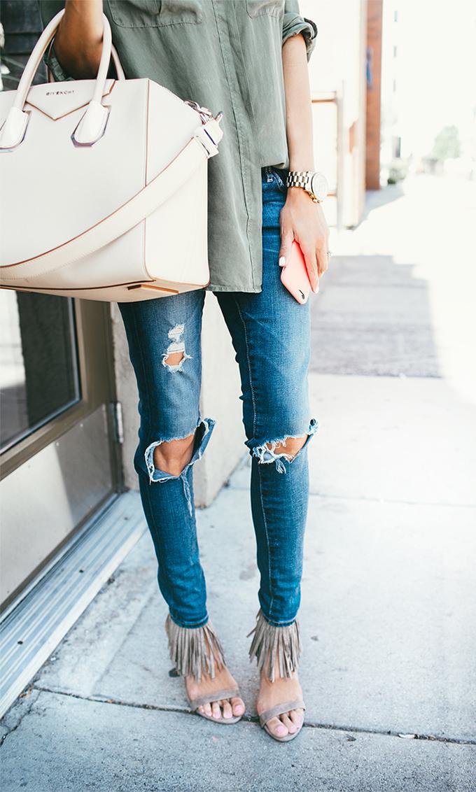 fringe and heels