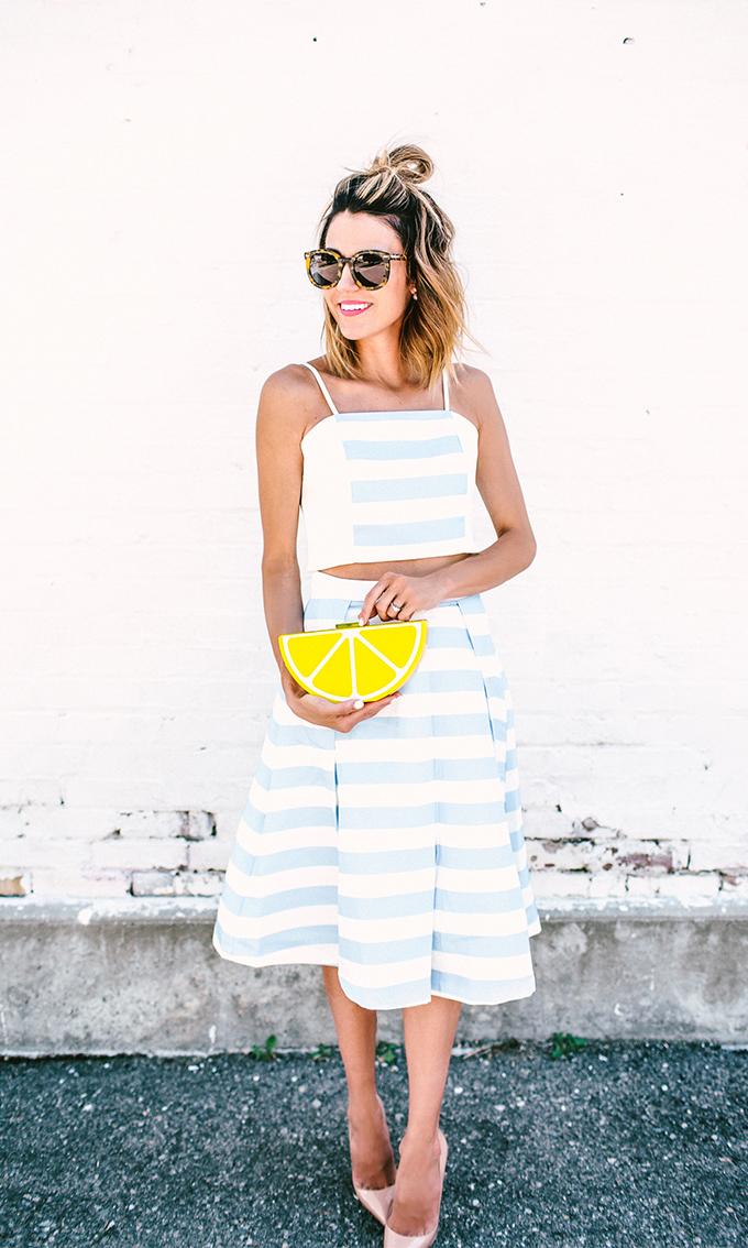 stripe set hello fashion