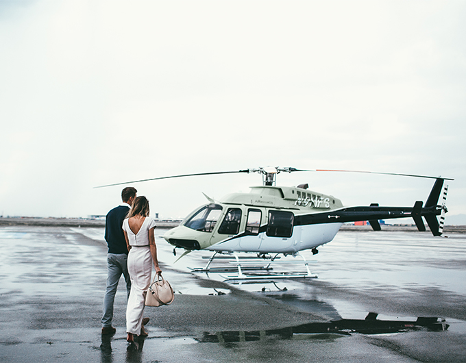 couple helicopter ride