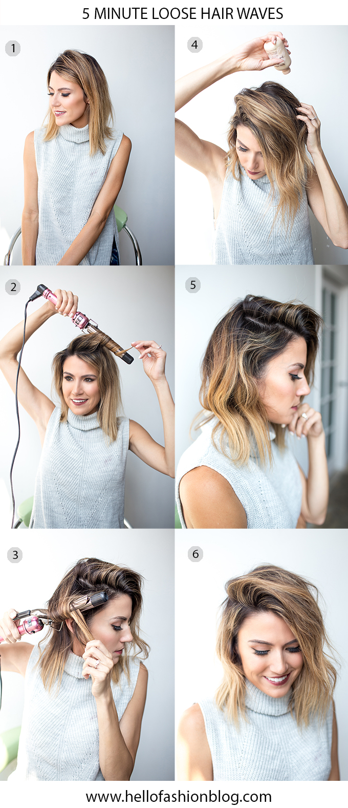 5 Minute Fall Hair Styles Hello Fashion