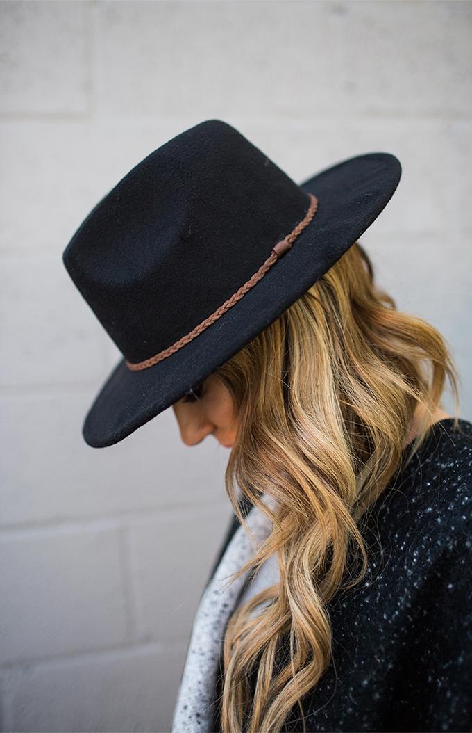 black hat ily couture