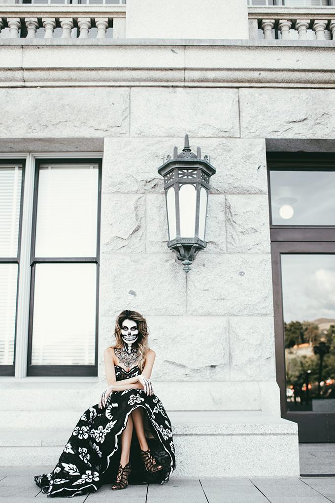 glam skeleton hello fashion