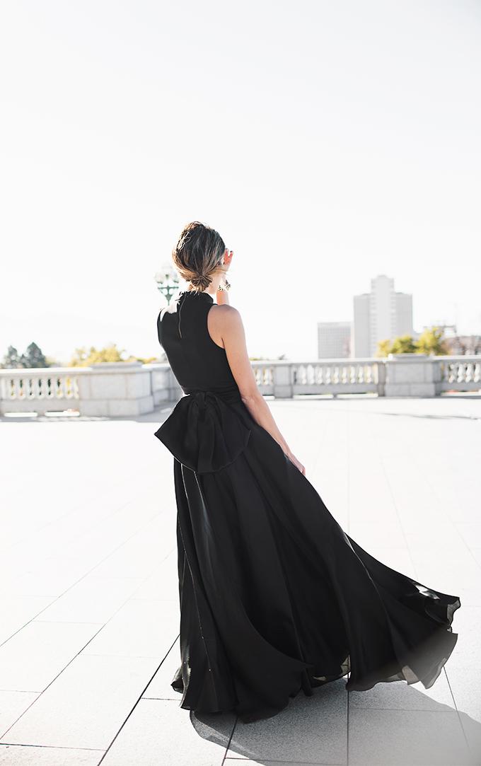 black bow skirt hello fashion blog