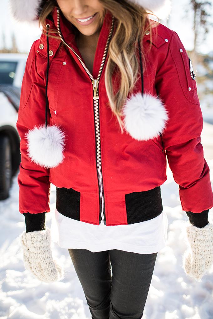 White Pom Pom Coat Hello Fashion Blog