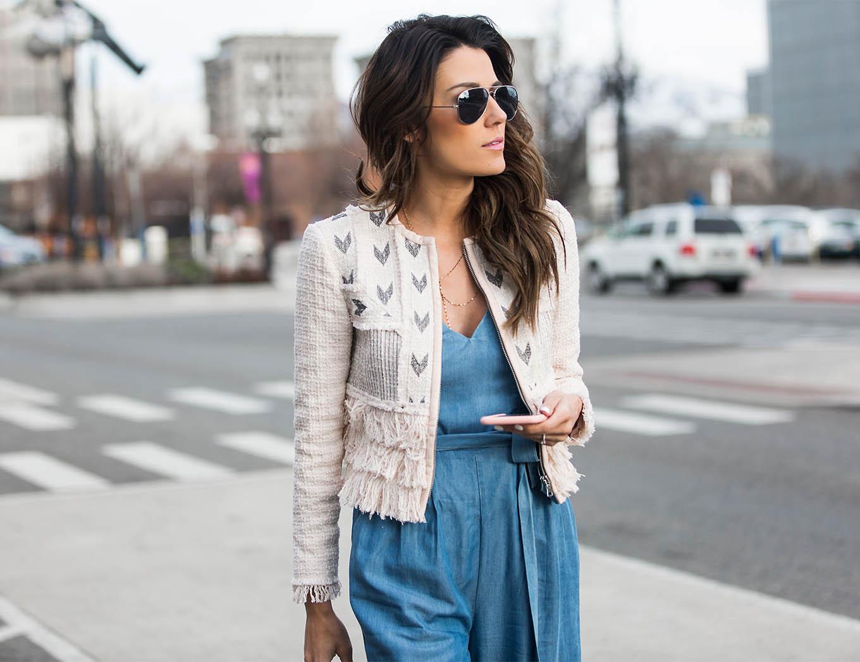 Fringe Jacket Hello Fashion Blog