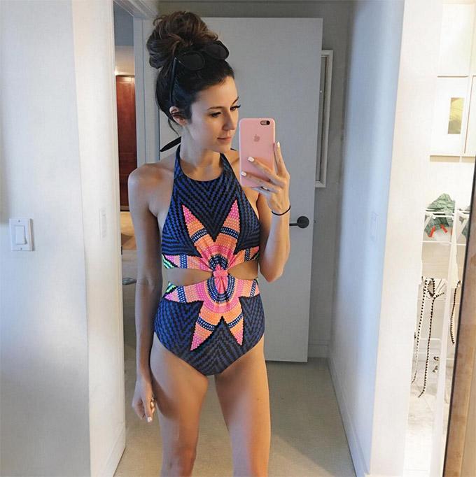 Cute one piece swimsuit hello fashion blog