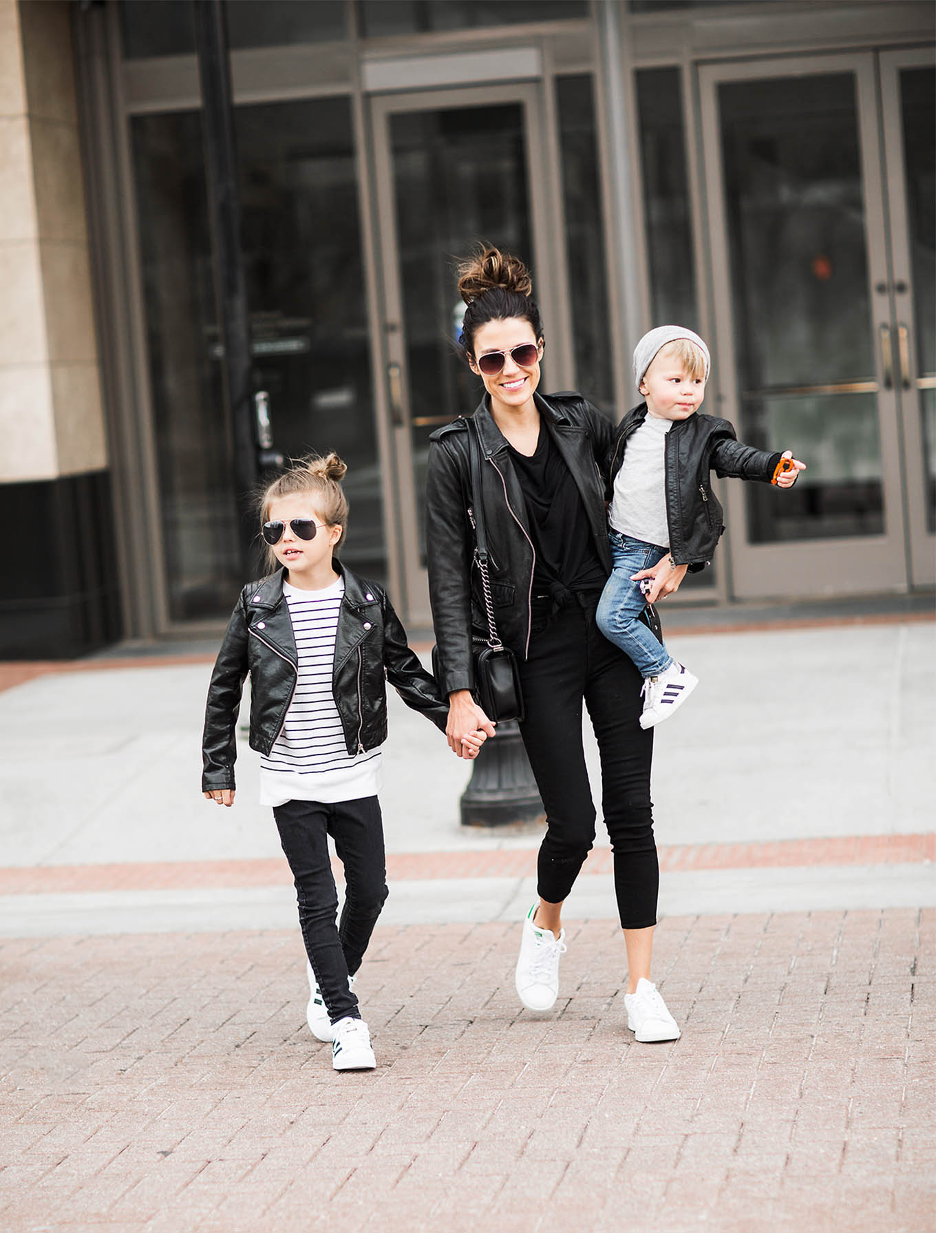 family leather look