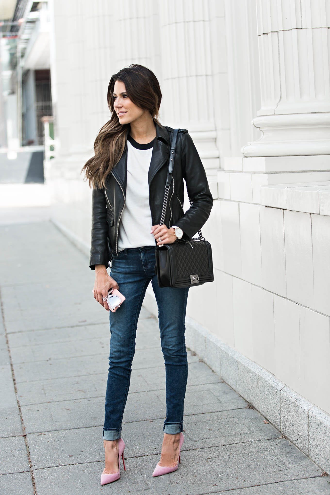 leather and chanel