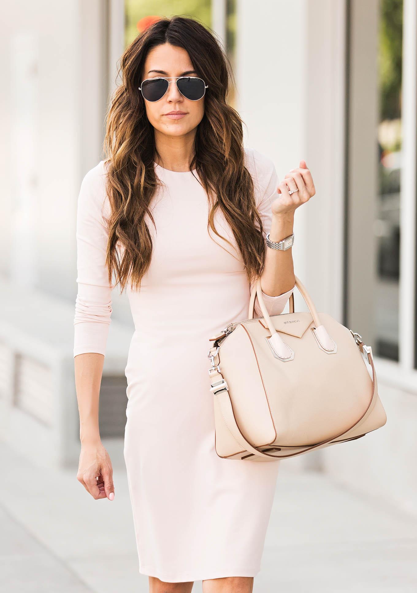 Cute blush pink dress