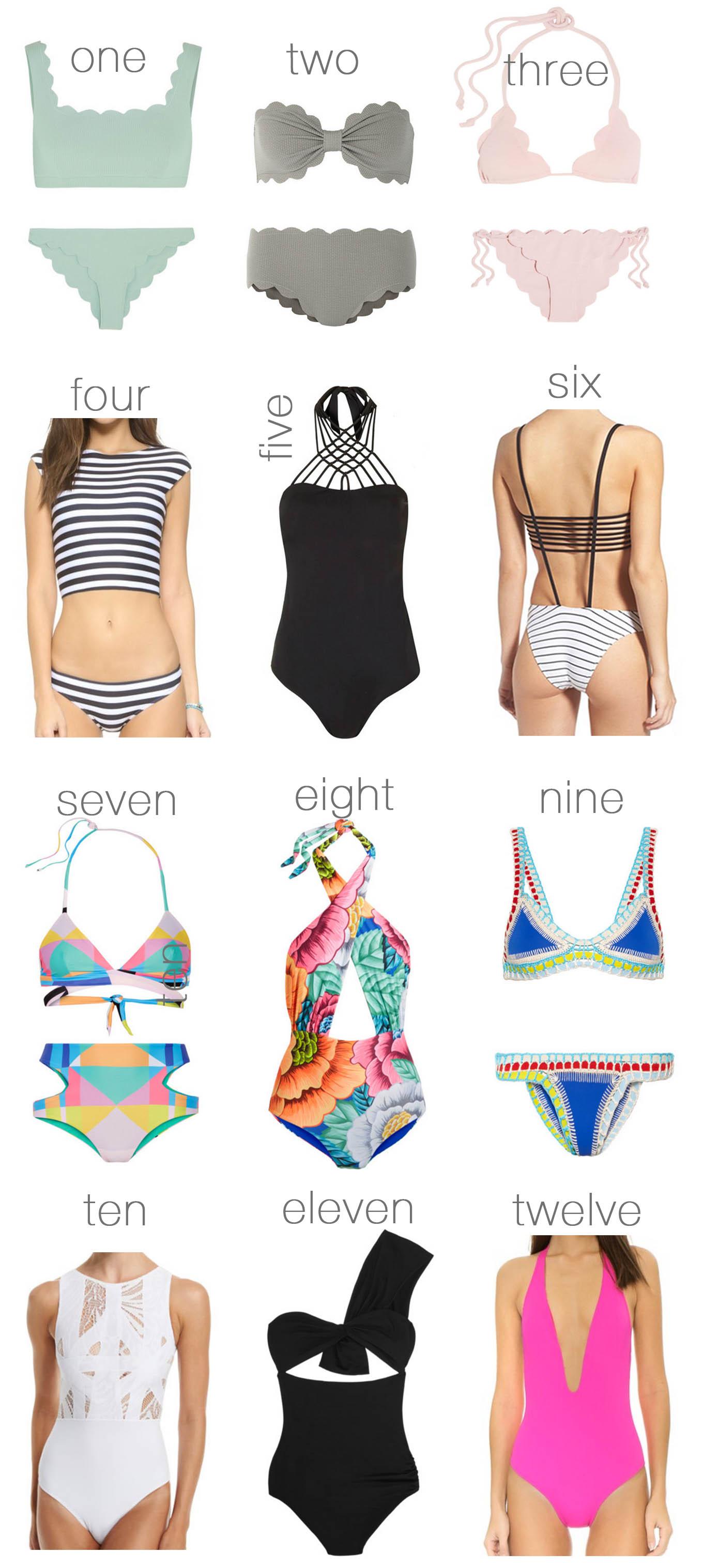 best unique swimsuits