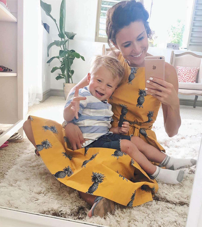 yellow pineapple dress