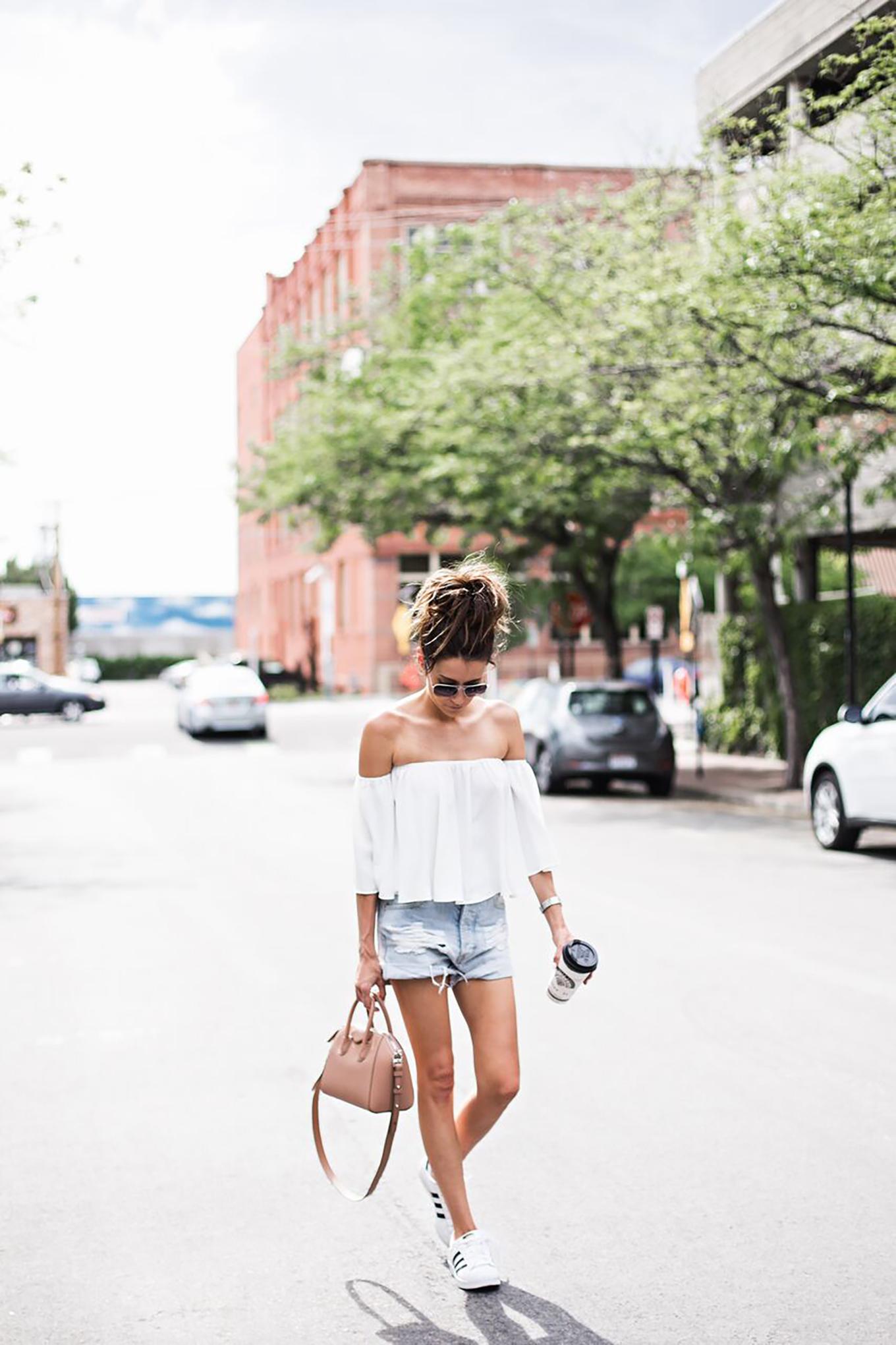 summer cut-off shorts
