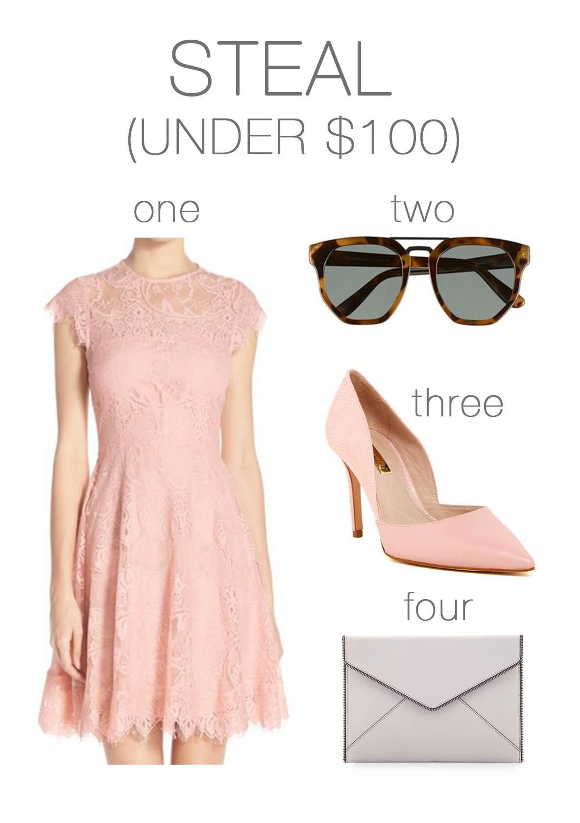 wedding attire under $100