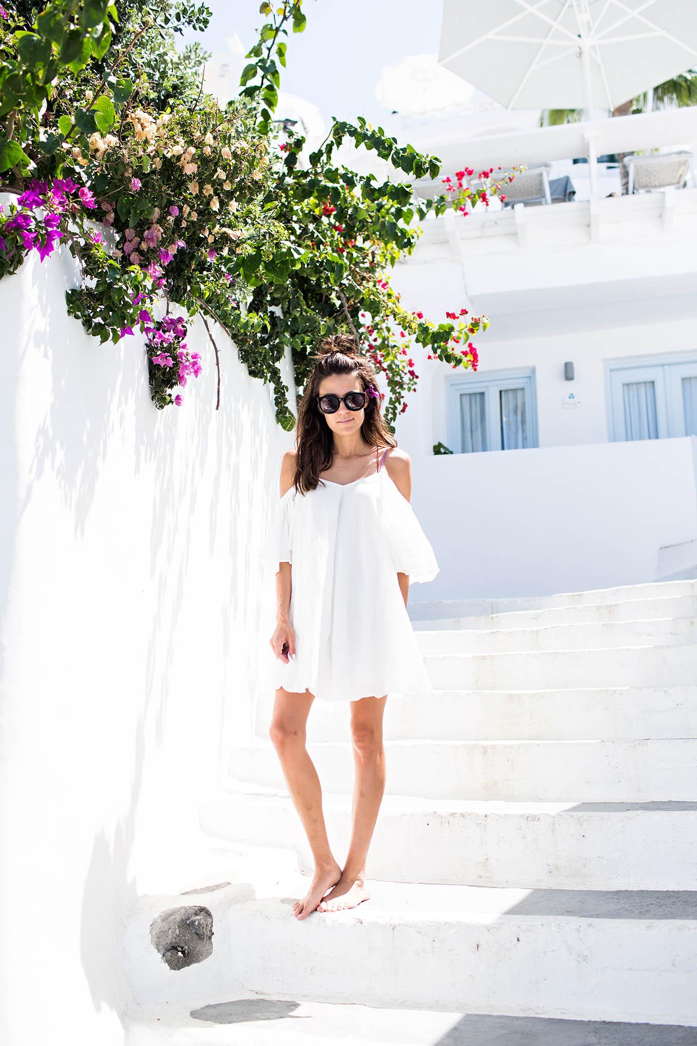 Santorini Greece Hello Fashion Blog