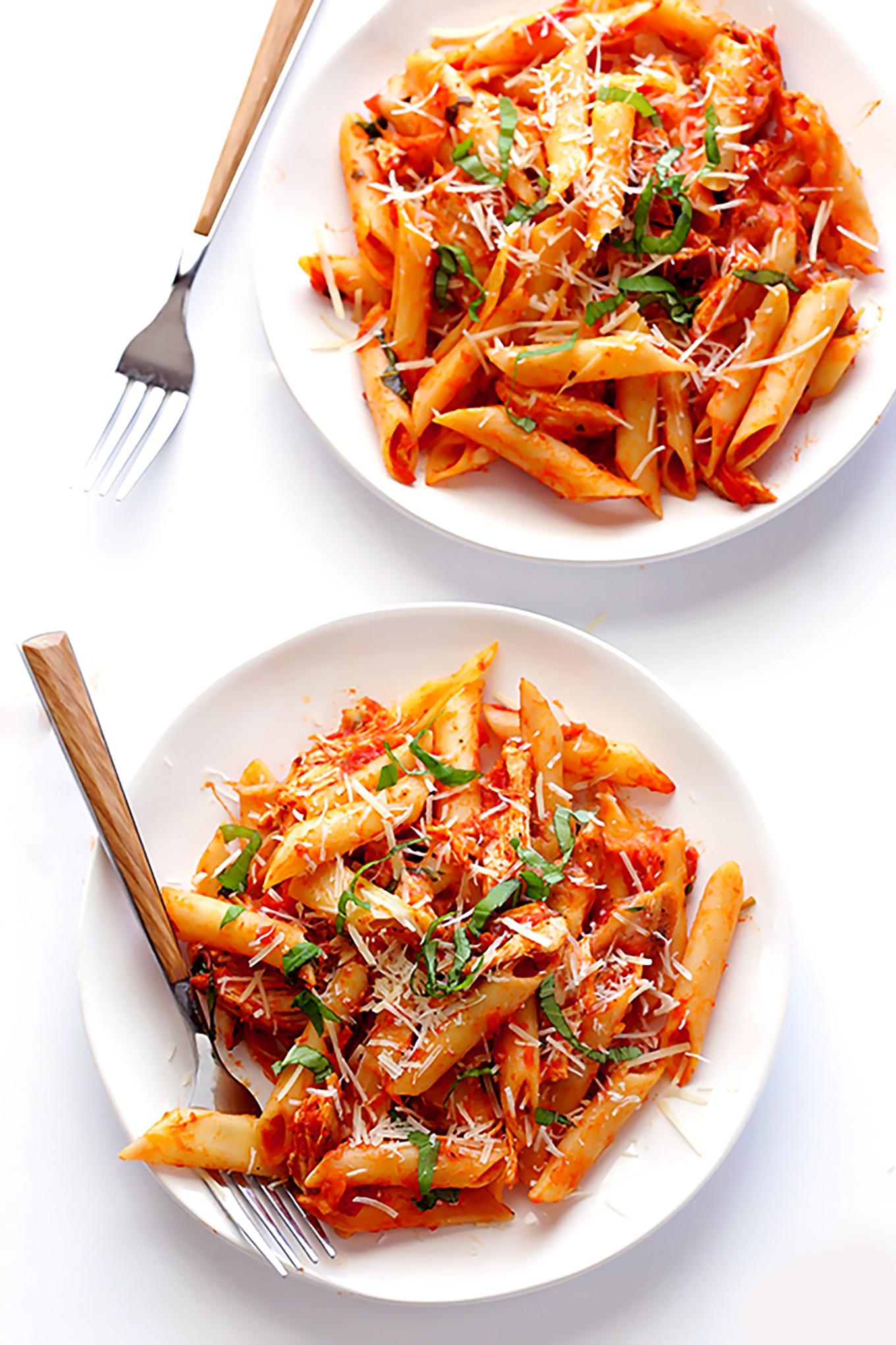 Chicken-Parmesan-Baked-Ziti-8