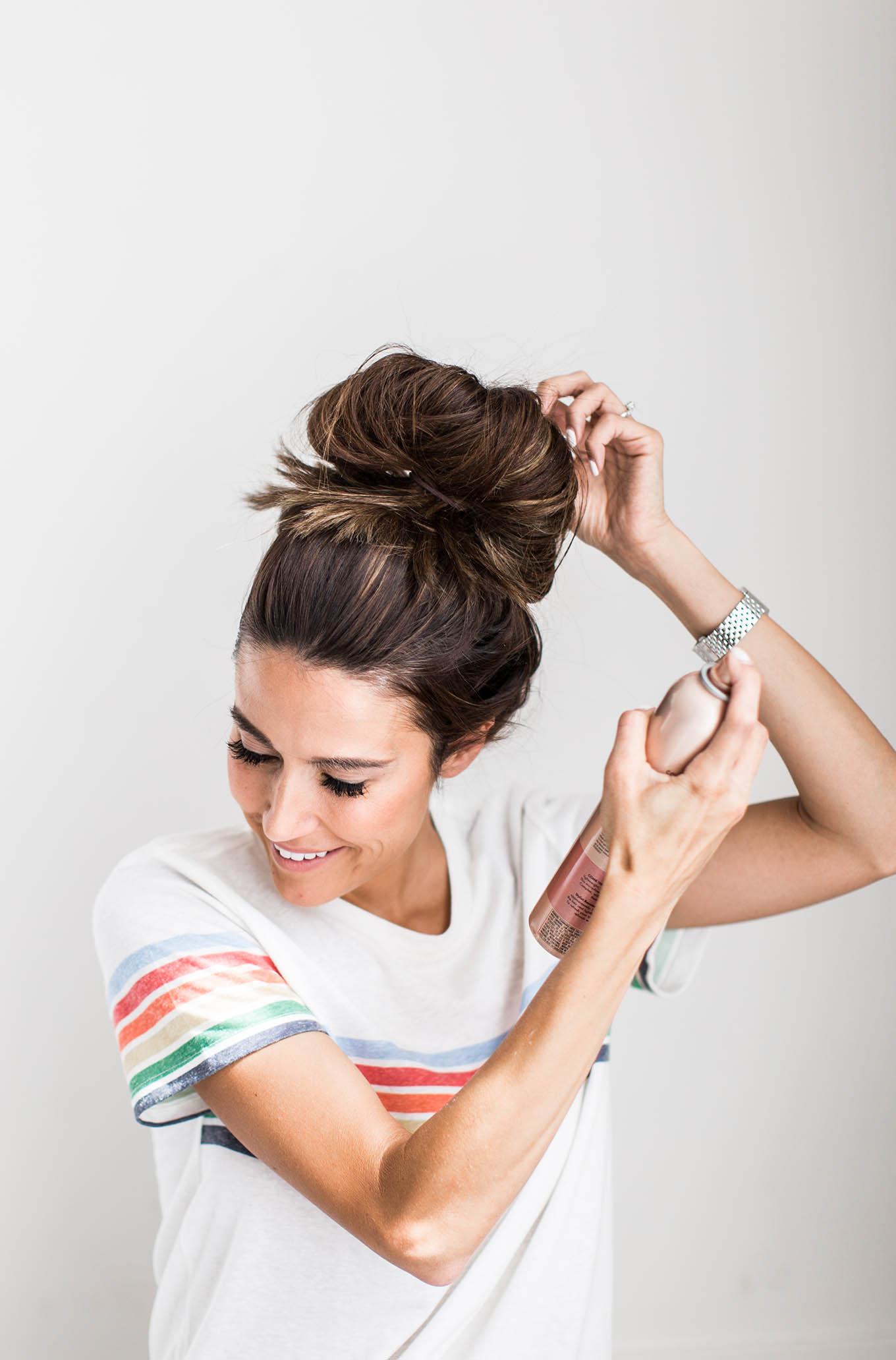 hello fashion top knot tutorial