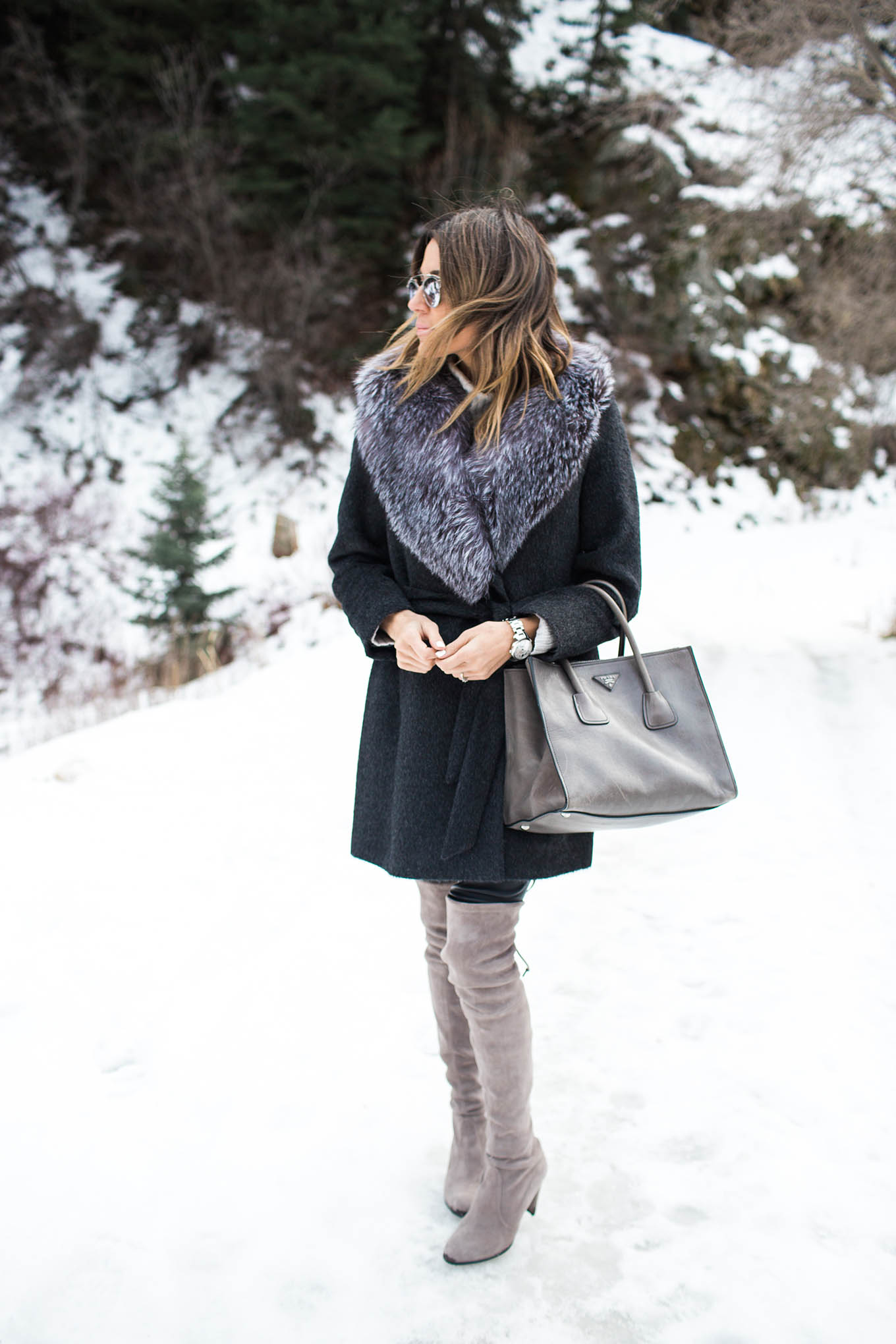 winter over-the-knee boots