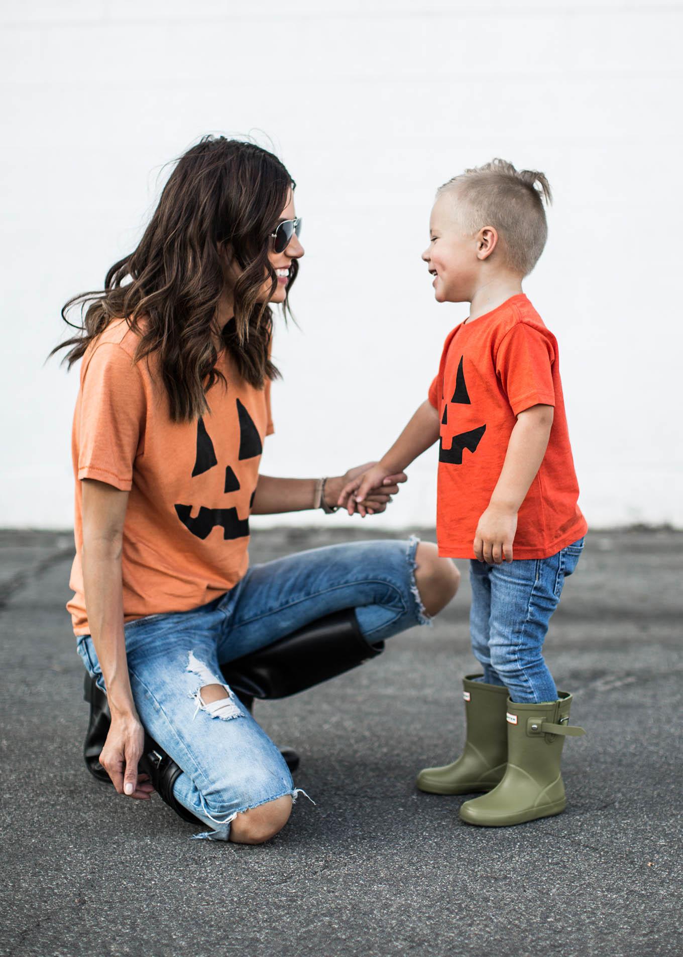 toddler pumpkin tee