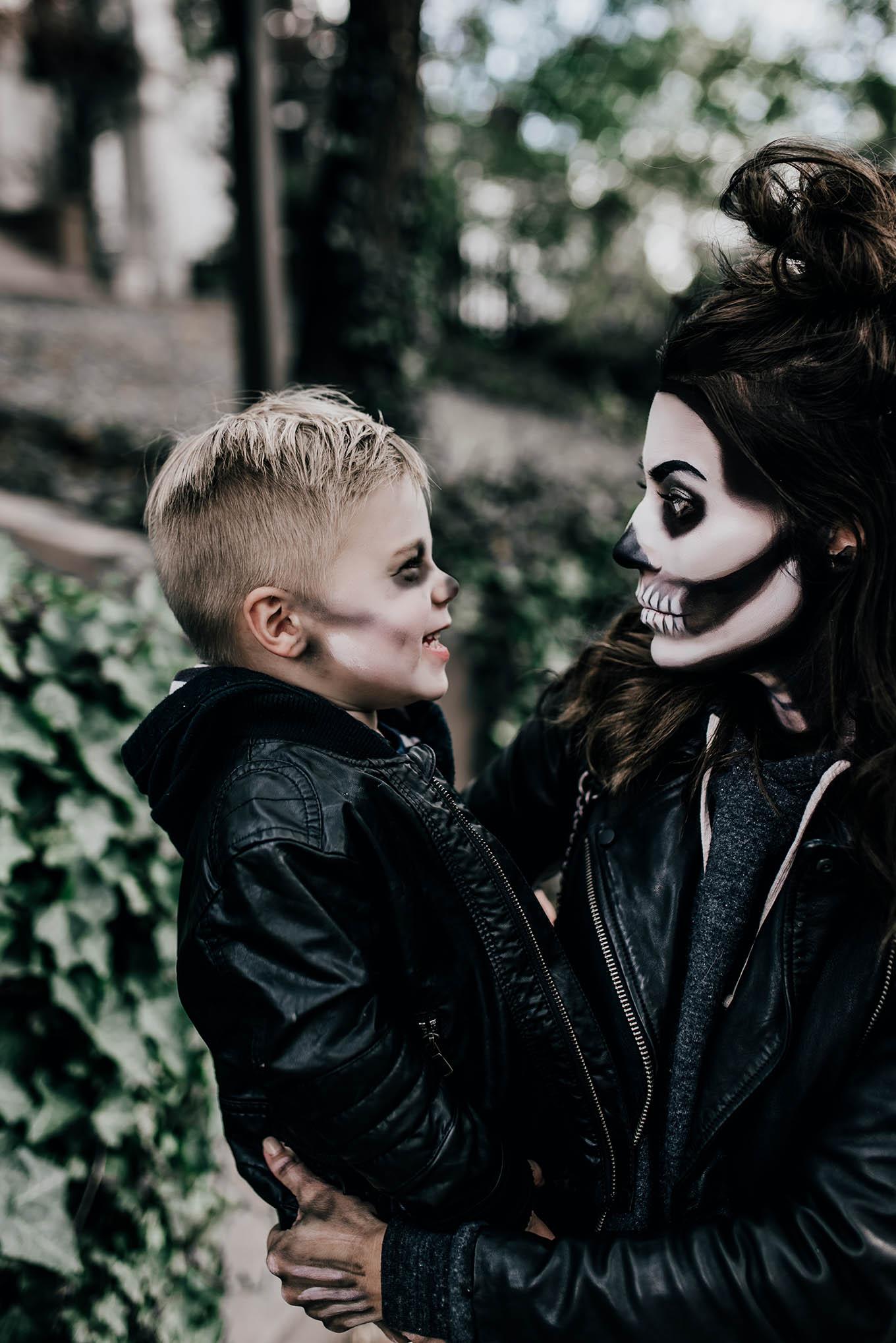 Christine and Beckam Halloween