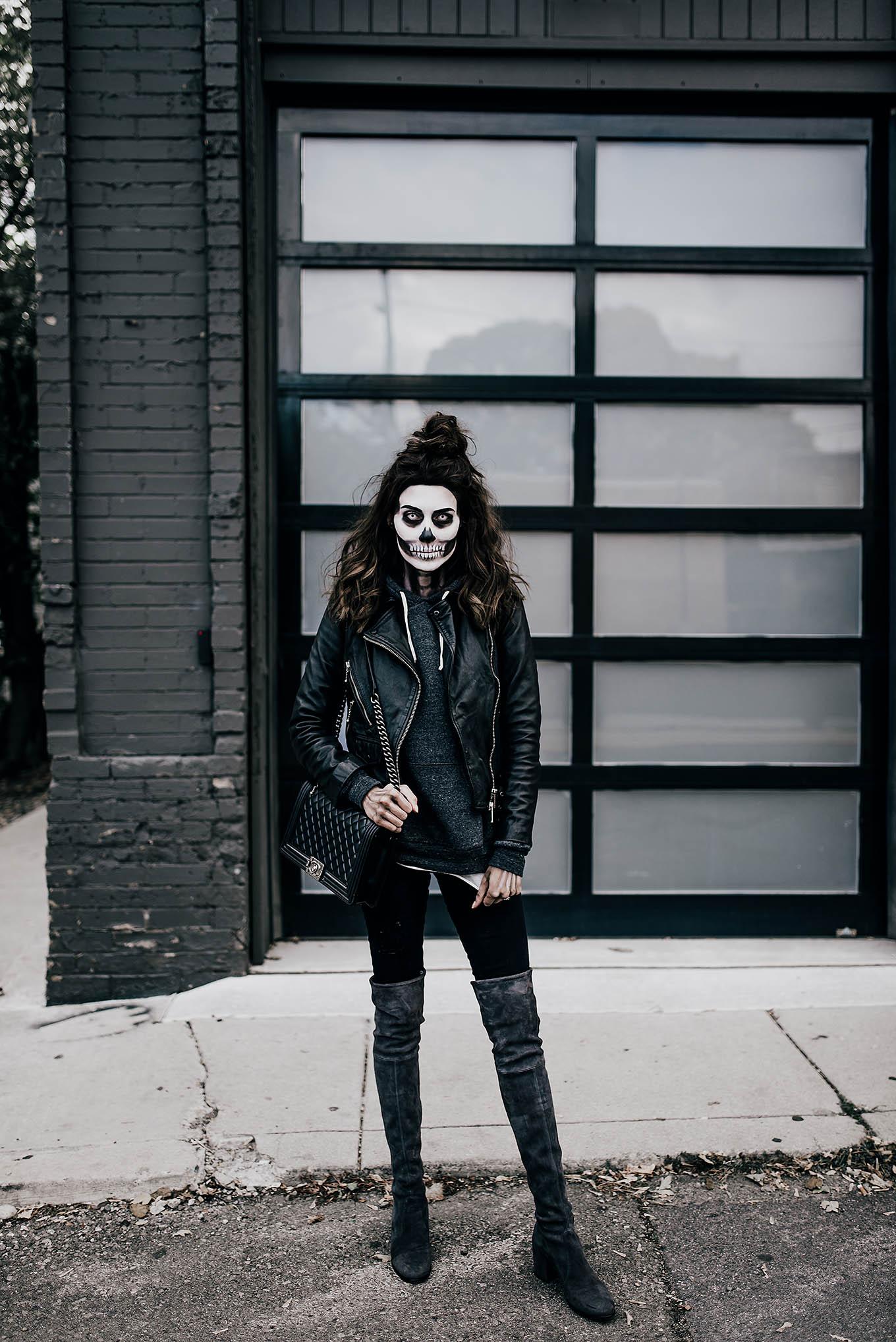 skeleton costume hello fashion blog