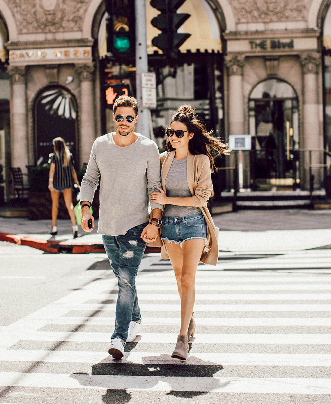 LA His & hers style
