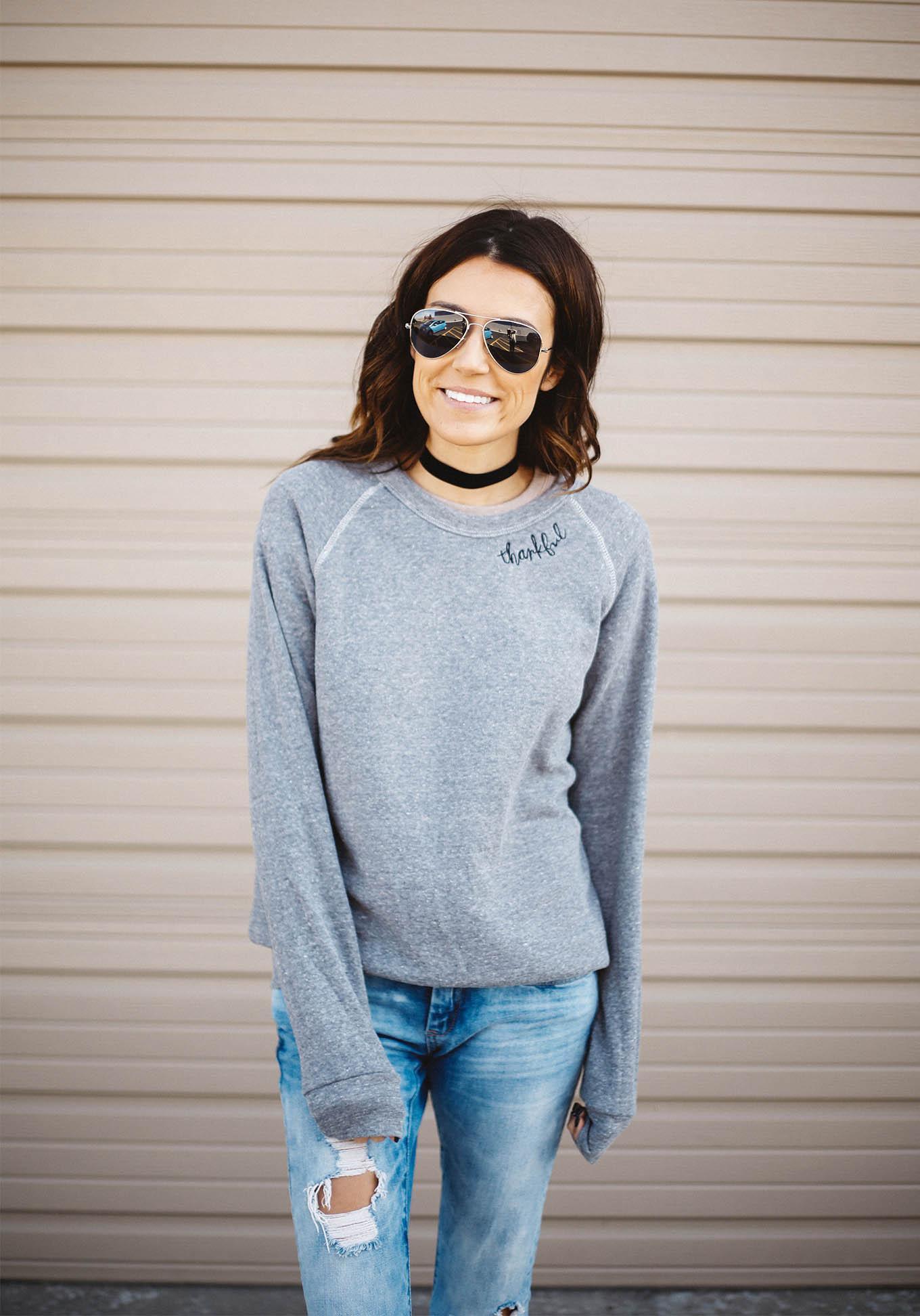 hello fashion sweatshirt