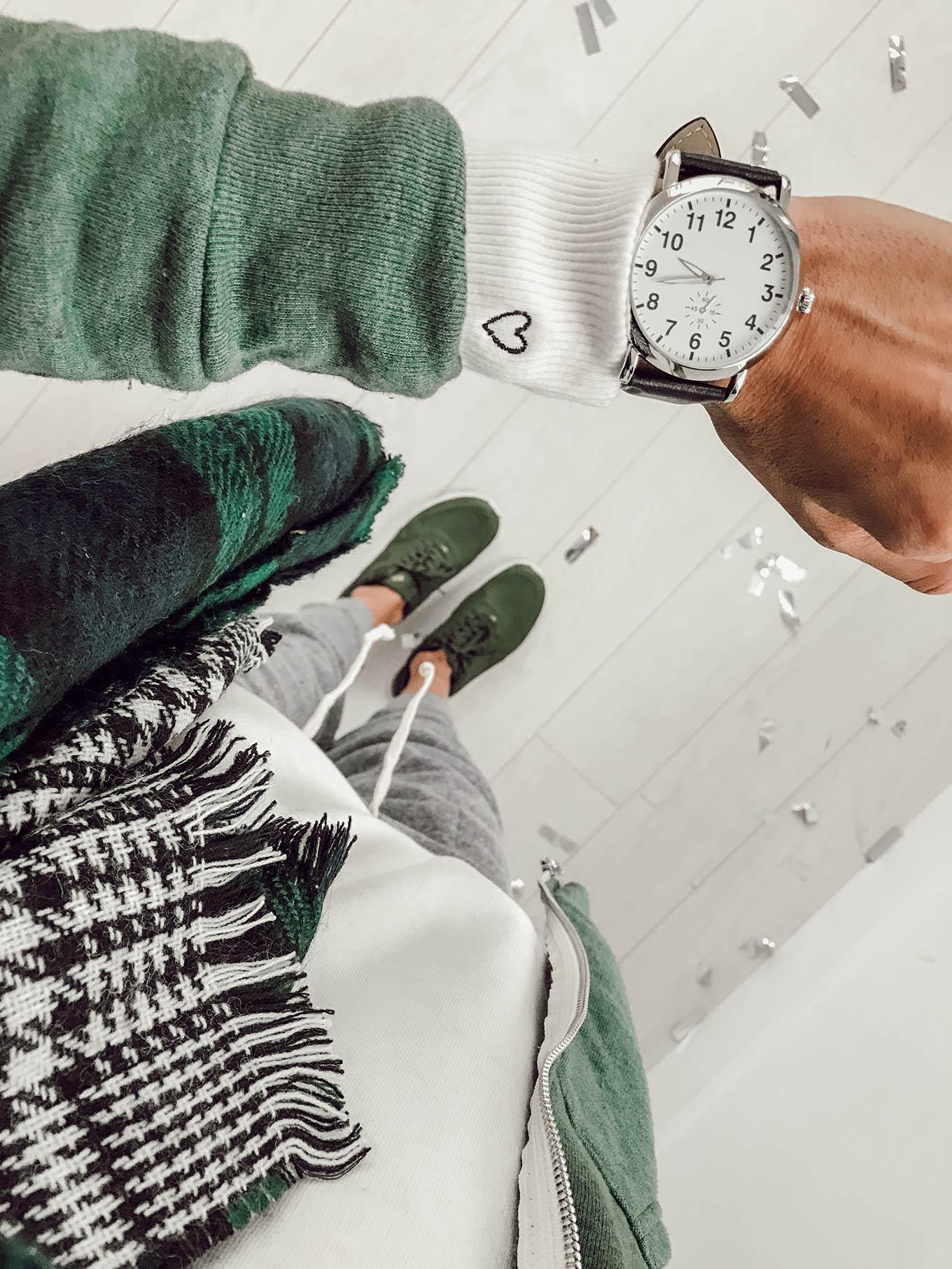 green christmas style