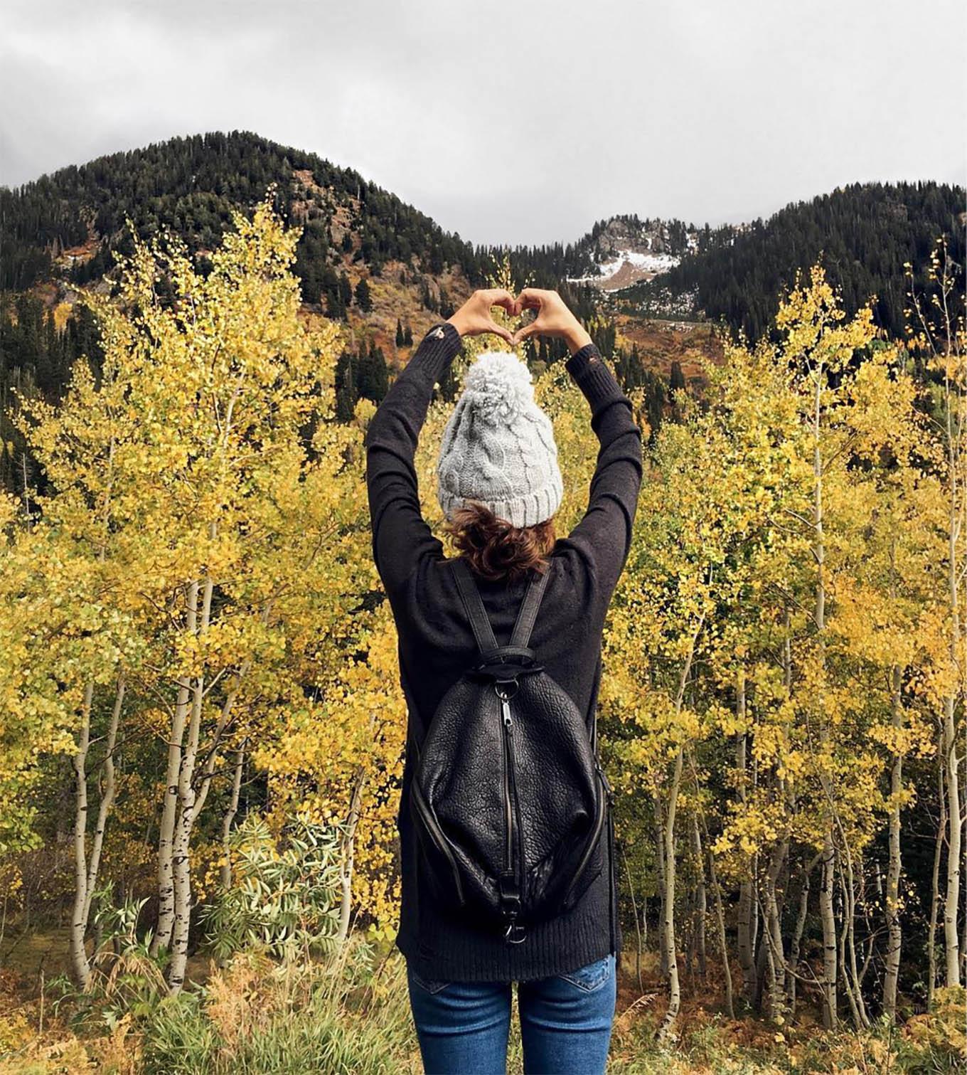 fall mountain style