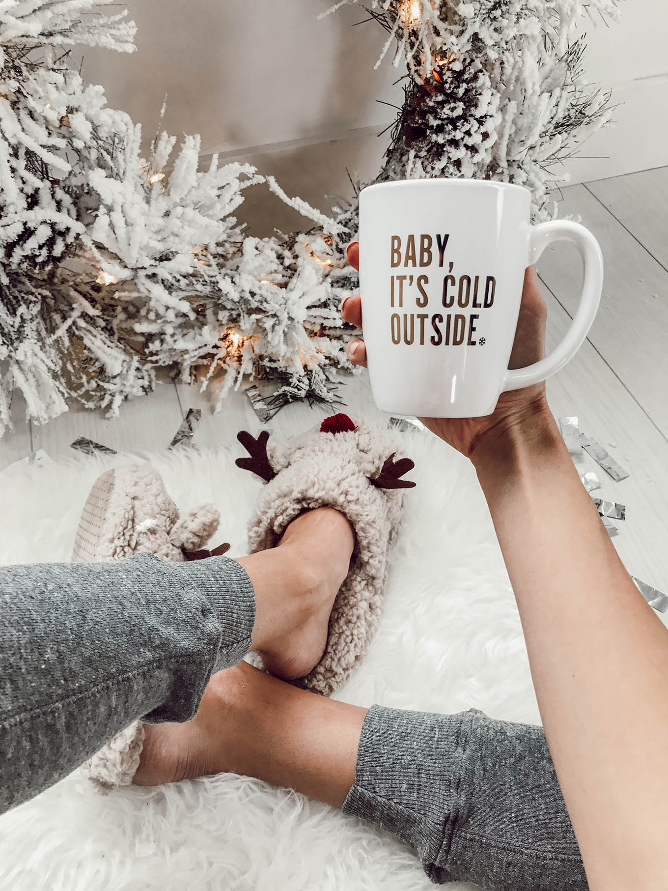 baby it's cold outside mug ILY couture