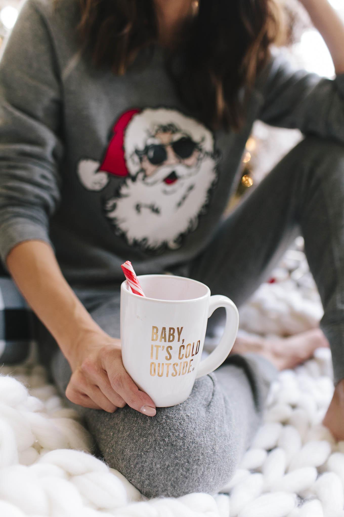 Christmas mugs ily couture