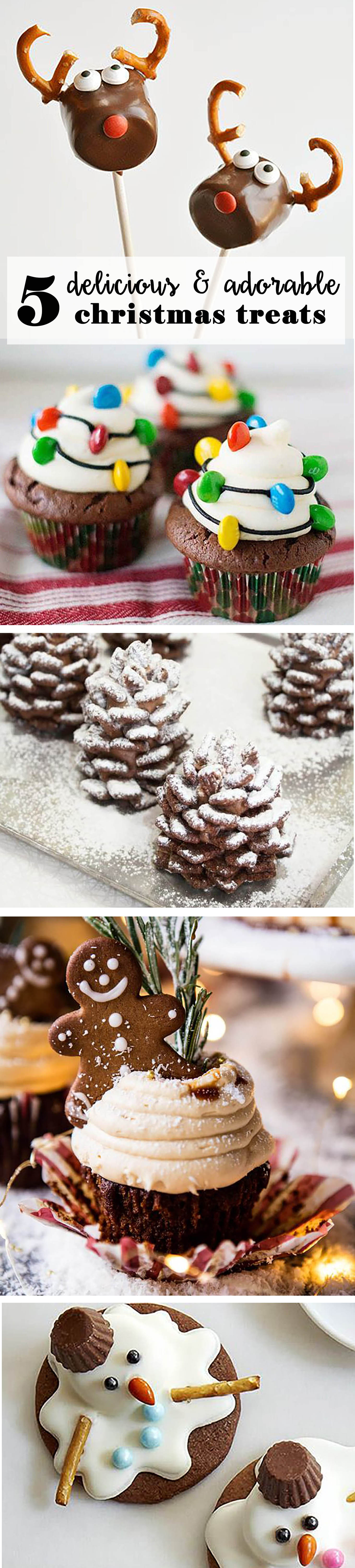 delicious and adorable christmas treats
