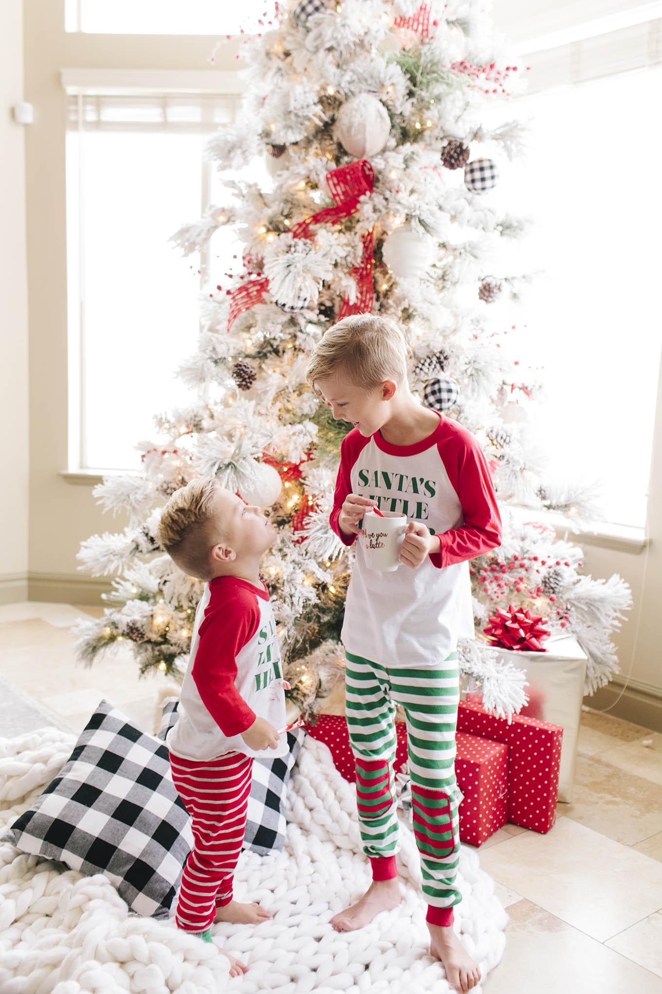 santa's little helper kids t-shirts