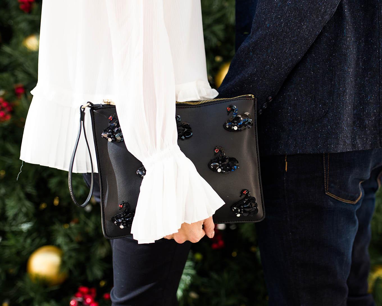 holiday clutch hello fashion