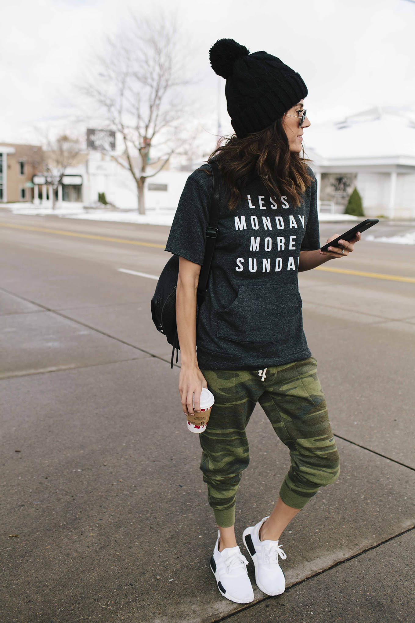 Less monday sweatshirt